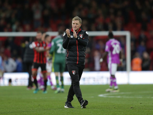 Bournemouth manager Eddie Howe following his side's 6-1 victory over Hull City at the Vitality Stadium on October 15, 2016