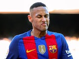 Barcelona forward Neymar in action during his side's La Liga clash with Deportivo La Coruna at the Camp Nou on October 15, 2016