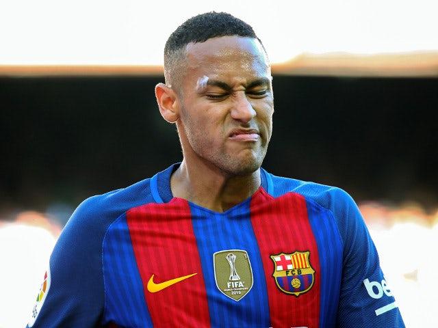 Barcelona forward Neymar in action during his side's La Liga clash with Deportivo La Coruna at the Camp Nou on October 15, 2016
