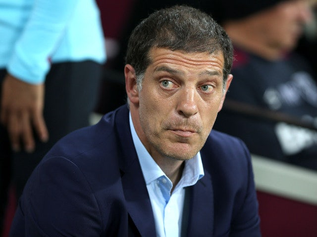 Slaven Bilic singles out on West Ham man for criticism after draw