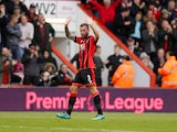 Bournemouth defender Steve Cook in action during his side's Premier League clash with Hull City at the Vitality Stadium on October 15, 2016