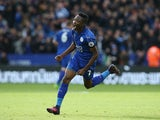 Leicester City forward Ahmed Musa in action during his side's Premier League clash with Crystal Palace at the King Power Stadium on October 22, 2016