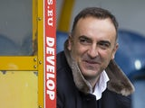 Sheffield Wednesday manager Carlos Carvalhal thinks he's got away with it on October 16, 2016