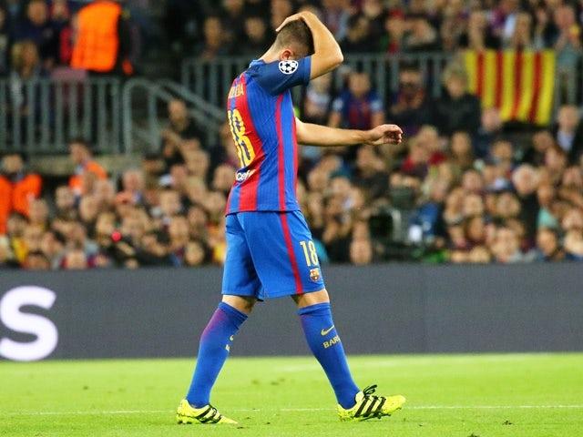 Jordi Alba reveals Barcelona frustration