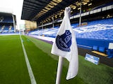 A general shot of the corner flag at Goodison Park prior to their Premier League clash with West Ham United on October 30, 2016