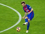 Ivan Rakitic in action for Barcelona during their La Liga clash with Granada at the Camp Nou on October 29, 2016