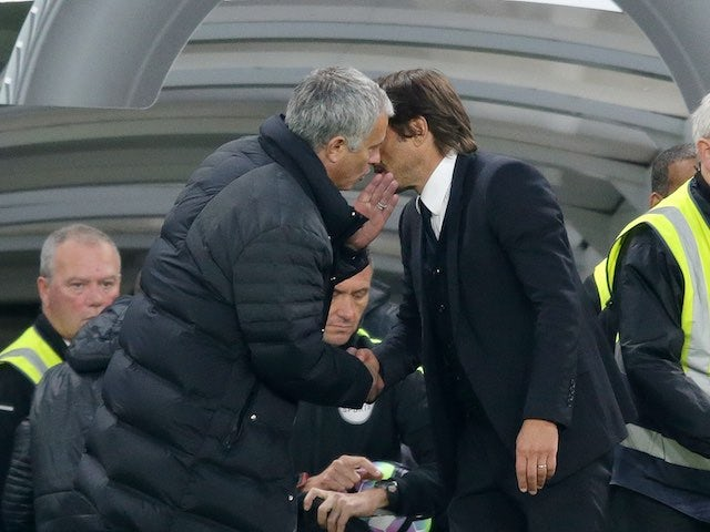 Antonio Conte puts end to Mourinho feud