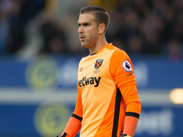 West Ham United boss Slaven Bilic: 'Adrian is remaining professional'