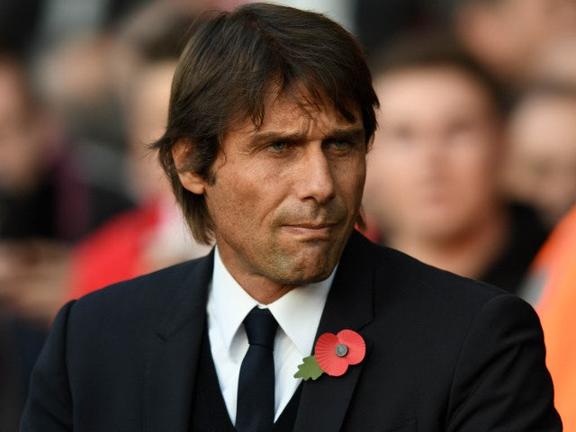 Chelsea manager Antonio Conte looks on during his side's Premier League clash with Southampton at St Mary's Stadium on October 30, 2016