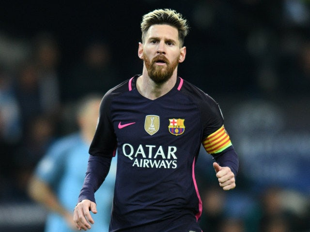 Real Madrid 'announce' Messi signing