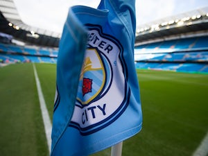 A general shot of the corner flag at the Etihad Stadium prior to Manchester City's Premier League clash with Middlesbrough on November 5, 2016