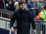 Tottenham Hotspur manager Mauricio Pochettino looks on ahead of his side's Champions League Group E clash with Bayer Leverkusen at Wembley Stadium on November 2, 2016