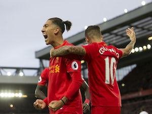 Team News: Coutinho, Firmino start for Liverpool