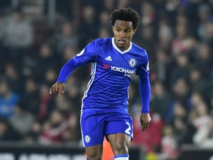 Willian shines as Chelsea thump Hull