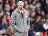 Arsenal manager Arsene Wenger on the touchline during the North London derby at the Emirates Stadium on November 6, 2016