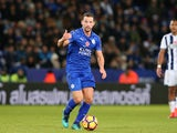 Leicester City midfielder Danny Drinkwater in action during his side's Premier League clash with West Bromwich Albion at the King Power Stadium on November 6, 2016