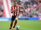 Sunderland midfielder Adnan Januzaj in action during his side's Premier League clash with Middlesbrough at the Stadium of Light on August 21, 2016