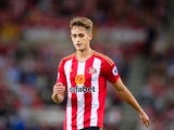 Sunderland midfielder Adnan Januzaj in action during his side's Premier League clash with Everton at the Stadium of Light on September 12, 2016