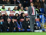 Wales manager Chris Coleman on the touchline during his side's World Cup qualifier with Serbia on November 12, 2016