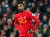 Liverpool striker Daniel Sturridge in action during his side's Premier League clash with Watford at Anfield on November 6, 2016