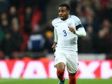 England defender Danny Rose in action during his side's World Cup qualifier against Scotland at Wembley on November 11, 2016