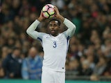England defender Danny Rose in action during his side's international friendly with Spain at Wembley on November 15, 2016