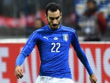 Italy's Davide Zappacosta in action for his side during the international friendly with Germany in Milan on November 15, 2016