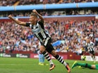 Dwight Gayle in action for Newcastle United on September 24, 2016