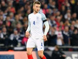 England midfielder Eric Dier in action during his side's World Cup qualifier against Scotland at Wembley on November 11, 2016