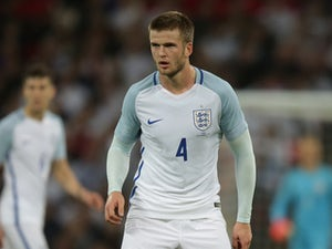 England midfielder Eric Dier in action during his side's international friendly with Spain at Wembley on November 15, 2016