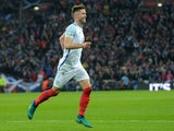 England defender Gary Cahill in action during his side's World Cup qualifier against Scotland at Wembley on November 11, 2016