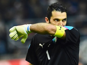 Buffon reaches landmark for Juventus