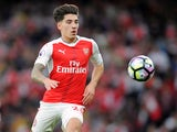 Arsenal full-back Hector Bellerin in action during his side's Premier League clash with Chelsea at the Emirates Stadium on September 24, 2016