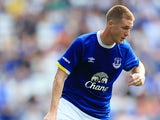 Everton midfielder James McCarthy in action during his side's pre-season clash with Espanyol at Goodison Park on August 6, 2016