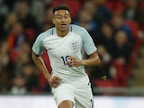 England midfielder Jesse Lingard in action during his side's international friendly with Spain at Wembley on November 15, 2016