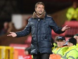 Swindon Town director of football Tim Sherwood on the touchline during the FA Cup clash with Eastleigh on November 15, 2016