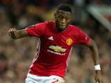 Manchester United's Timothy Fosu-Mensah in action during the Europa League clash with Zorya Luhansk at Old Trafford at September 29, 2016