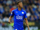 Demarai Gray in action for Leicester City on September 22, 2016