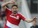 Gaston Ramirez in action for Middlesbrough on October 29, 2016