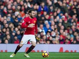 Manchester United midfielder Juan Mata in action during the Premier League clash with Arsenal at Old Trafford on November 19, 2016