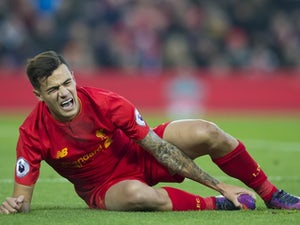 Coutinho 'out for five to six weeks'