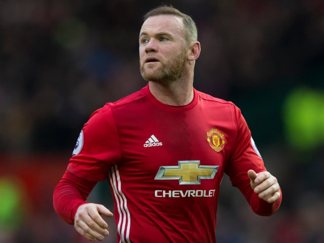 Manchester United striker Wayne Rooney in action during the Premier League clash with Arsenal at Old Trafford on November 19, 2016