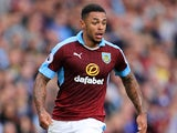 Andre Gray in action for Burnley on August 5, 2016
