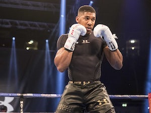 Joshua expecting to be taken 10-12 rounds