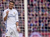 Cristiano Ronaldo finally shows some modesty during the La Liga game between Barcelona and Real Madrid on December 3, 2016