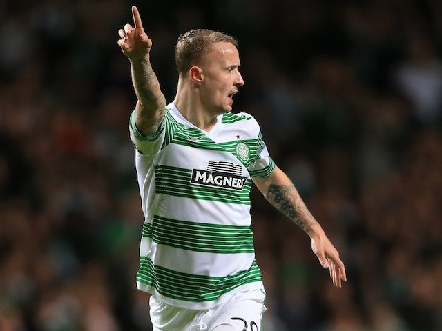 Leigh Griffiths in action for Celtic on February 19, 2015