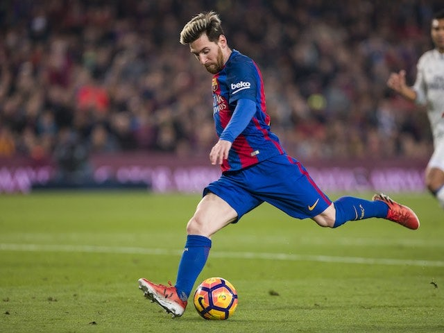 Result: Messi brace sends Barca three clear