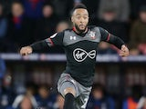 Nathan Redmond leaps like a leopard during the Premier League game between Crystal Palace and Southampton on December 3, 2016