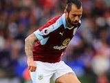 Steven Defour in action for Burnley on September 17, 2016