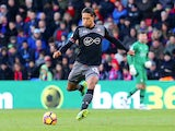 Virgil Van Dijk in action during the Premier League game between Crystal Palace and Southampton on December 3, 2016